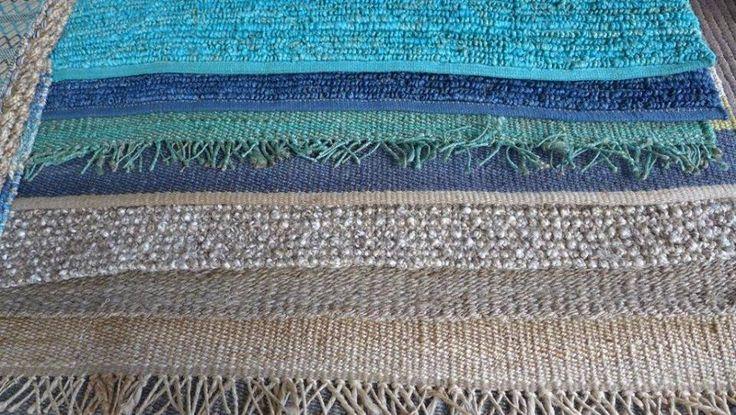 MARABIERTO - Alfombras de fibras naturales como lana, yute o cáñamo en docenas de diseños y colores