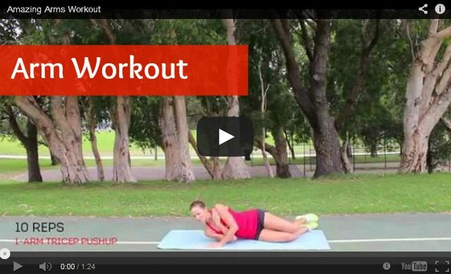 Get sexy arms with this arm workout! http://www.bufnewcastle.com.au/blog/post/2014/06/20/Arm-Toning-Workout.aspx