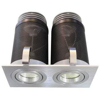LED SQUARE TILT/ROTATE DOUBLE