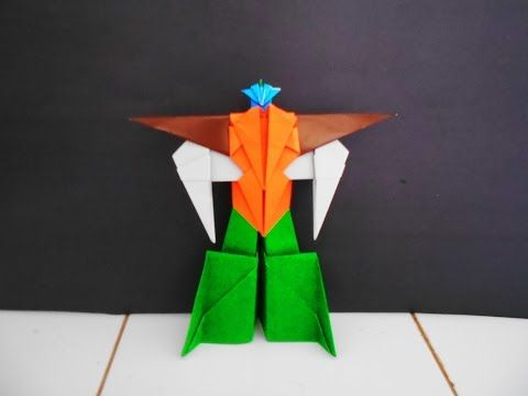 how to make a paper robot transformer