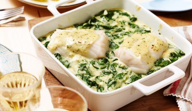 Ofenfisch auf Blattspinat | maggi.de