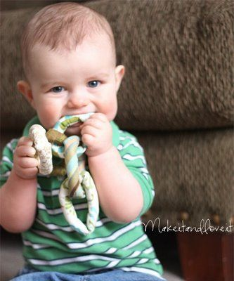 Cloth Baby Rings | Make It and Love It