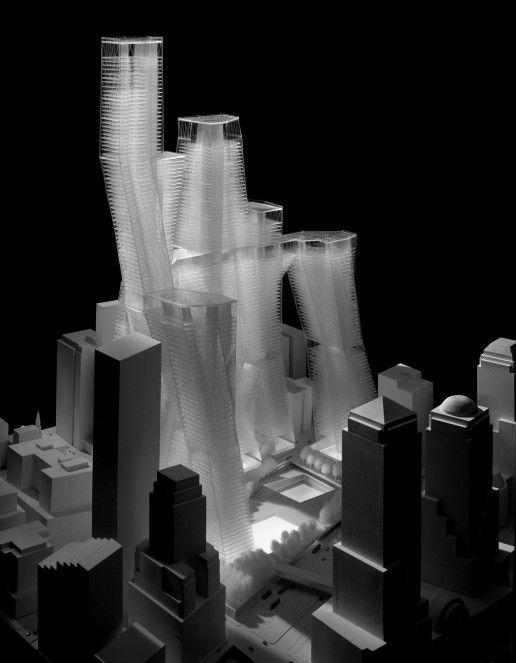 GREG LYNN FORM – World Trade Center Site Design