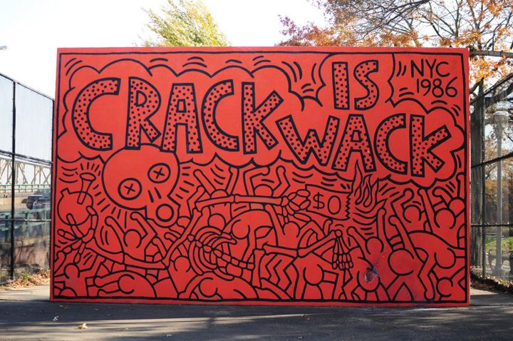 キースへリングのストリートアート