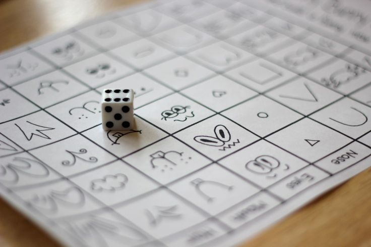 bunny faces game. perfect for quiet time.