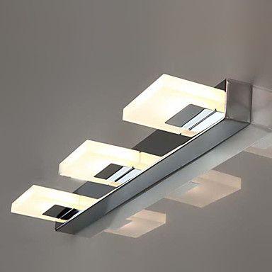 Luz LED de pared, 3 Luz, Moderno, Metal, Arcylic galvanoplastia – CLP $ 57.879