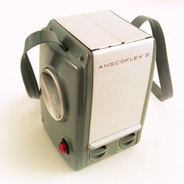 Anscoflex II camera from 1954. Design by Raymond Loewy
