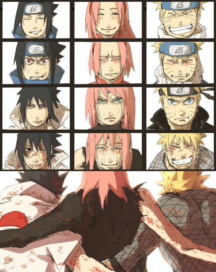 Naruto, Sasuke & Sakura💕