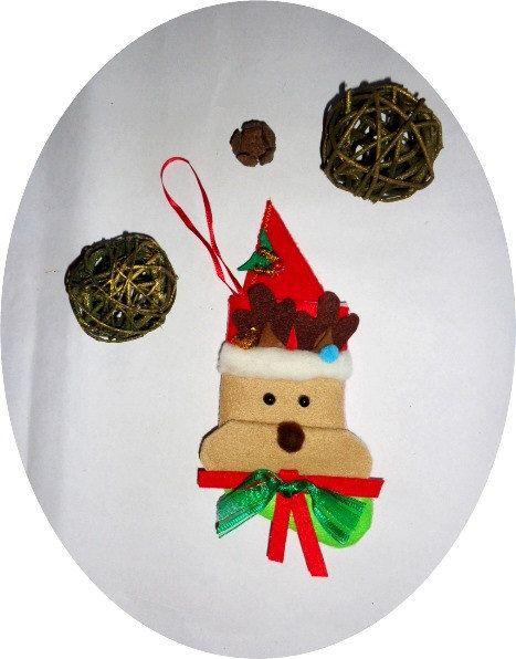 Decoration Rudolf-Christmas-Tree-Bottine by techirshop on Etsy