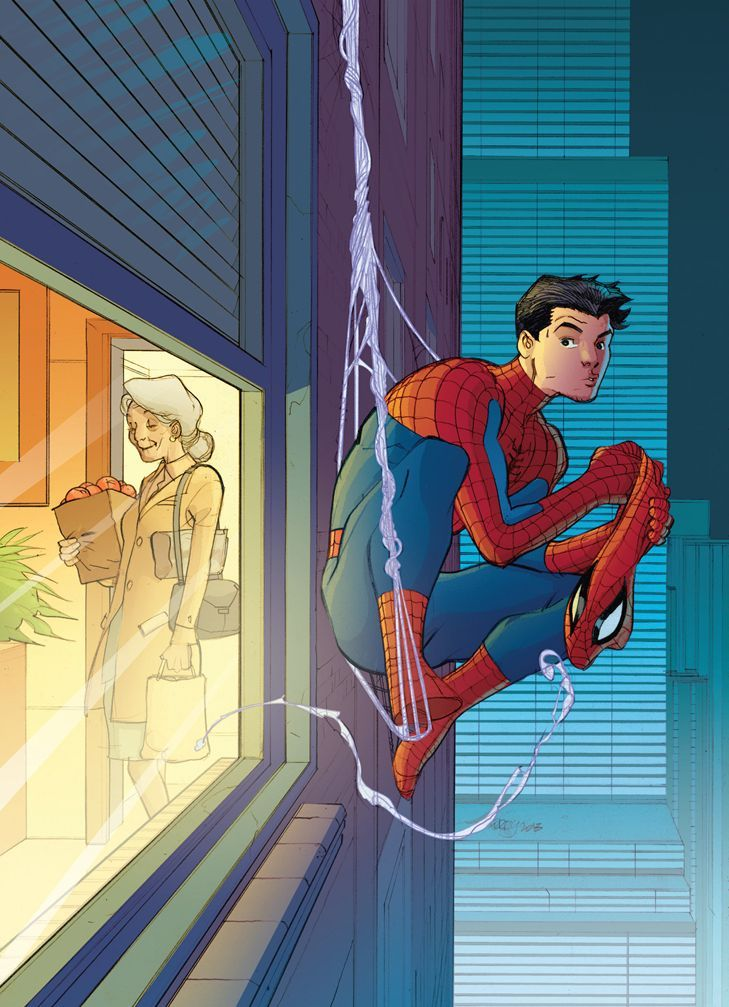 Spider-Man by Pasqual Ferry: