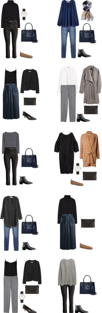 What to wear in Paris France Outfit Options 1-10 #travellight #packinglight #traveltips #travel
