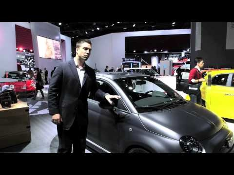 The FIAT 500 Tenebra Concept Vehicle @ The 2013 North American International Autoshow