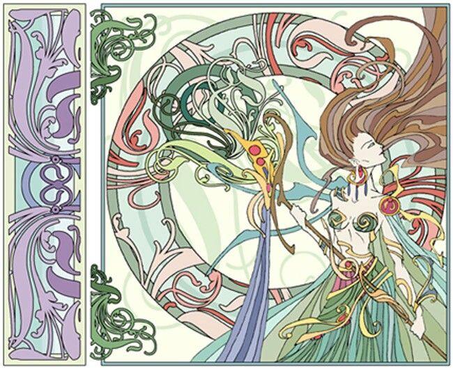 68 best Art nouveau and deco images on Pinterest | Art deco art ...