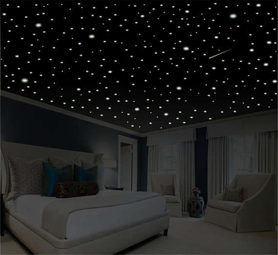 Our Vidid Glow® Glow Stars Are The Highest Rated Glow In The Dark Stars On  · Glow StarsCeiling StarsRomantic Bedroom ...