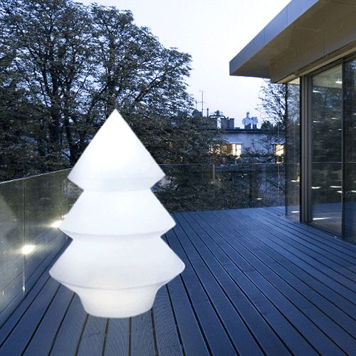 Sapin Lumineux Alba Large Ambiance Nocturne Arkema Design Jardinchic