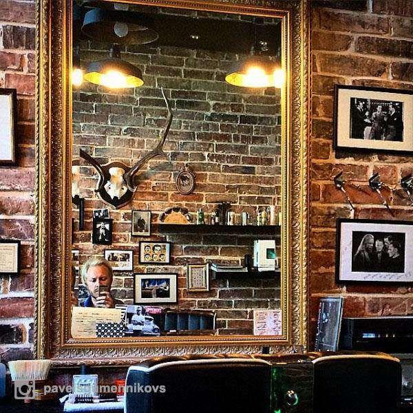 Barber Shop Wood Religion Latvia Riga | Photo by @pavelsigilmennikovs