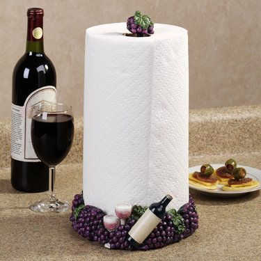 Wine Bottle Themed Kitchen Decor Big Lots Appliances Grape Items   ... Grapes Paper Towel Holder Is