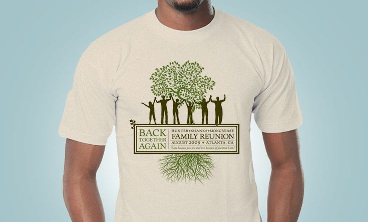 18 best images about reunion on pinterest reunions t for It s all custom t shirts and embroidery atlanta