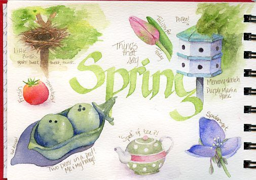 Shared by permission from Laure Ferlita a new-to-me favorite watercolor artist. Be sure to check Laure's blog, and especially her watercolor classes. Awesome! Her blog:http://paintedthoughtsblog.blogspot.com/