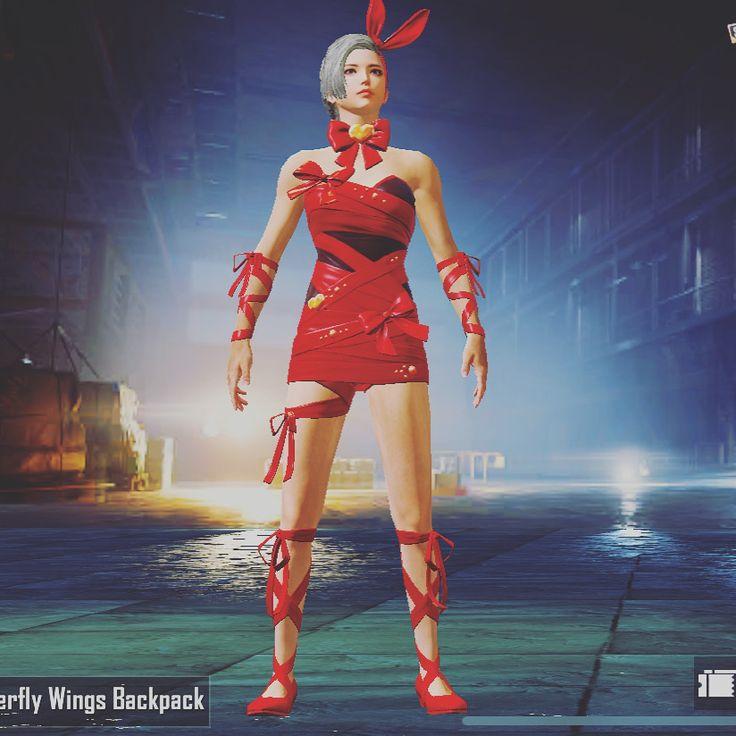 PUBG - RED DRESS | Red dress, Wonder woman, Dresses