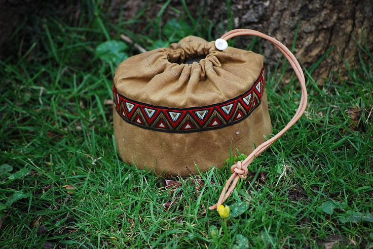 Bushcraft Round Woodgas Stove Bag Waxed Cotton by BushcraftMercantile on Etsy