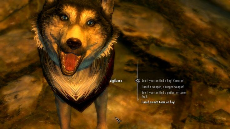Useful Dogs at Skyrim Nexus - mods and community