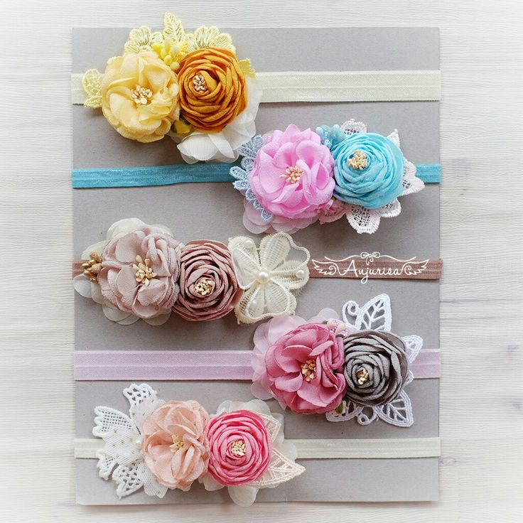 My handmade flowers! I prefer my own handmade flowers than buy ready-to-use flowers.. #DIY #fabricflower #handmadeflower