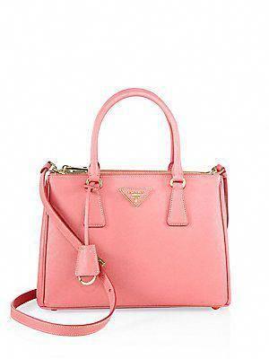 5c16a9c0816e Prada Saffiano Lux Small Double-Zip Tote  Pradahandbags