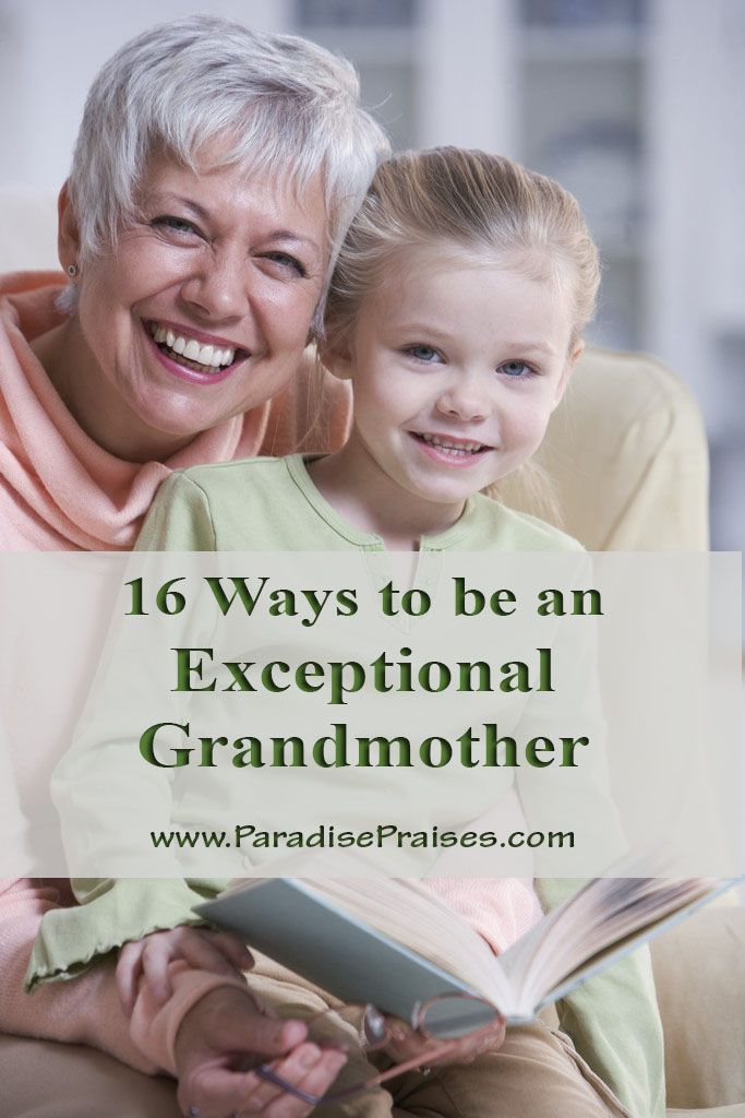 These are some great ideas to keep in mind as a grandma!! 16 Ways to be a Good Grandmother