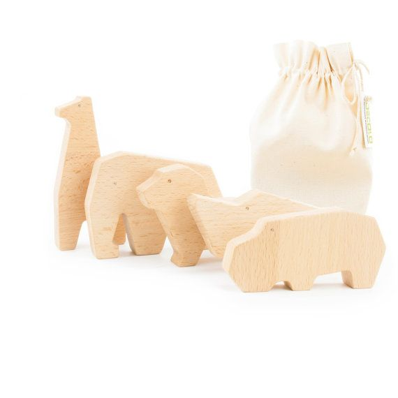 Wooden organic natural toys Africa by Oecolo on Etsy