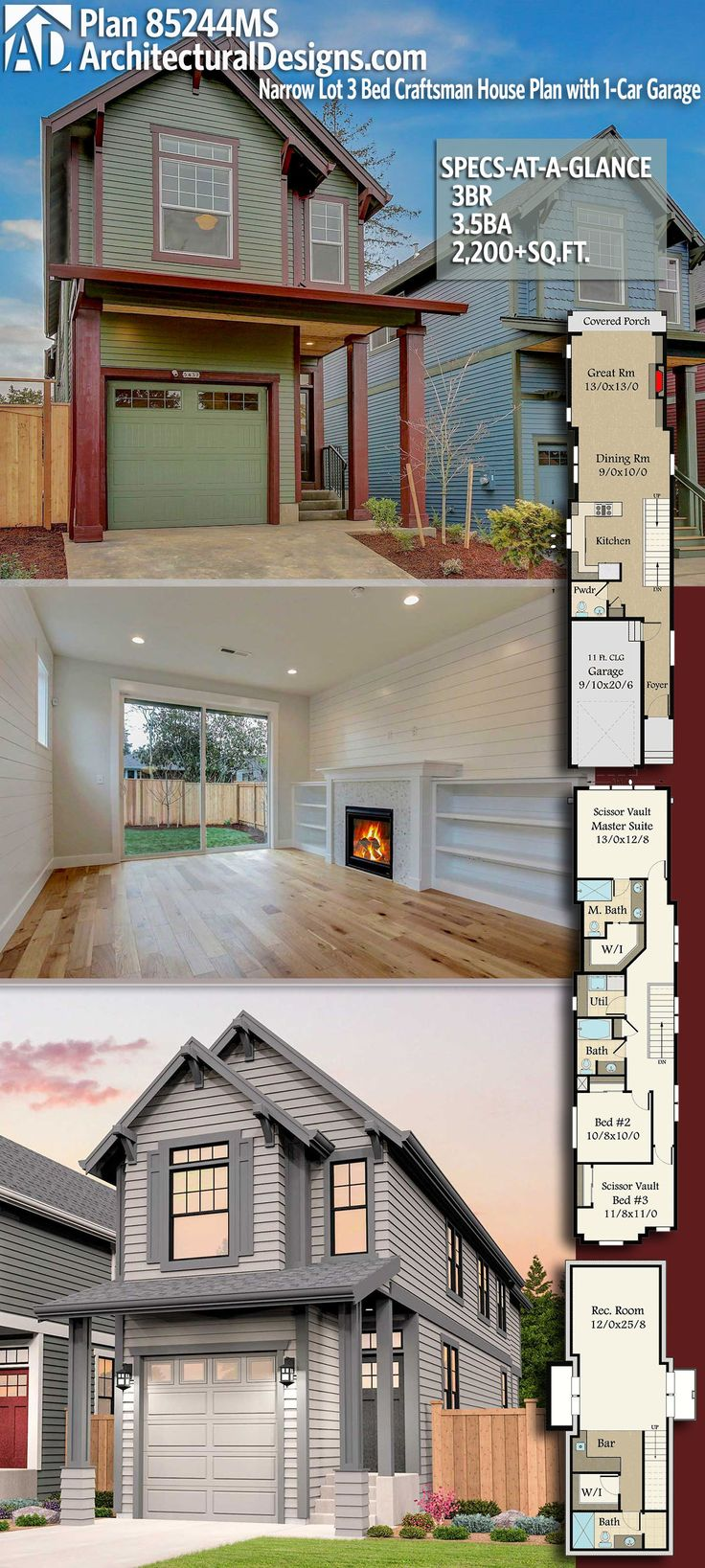651 best House Plans With Stories images on Pinterest