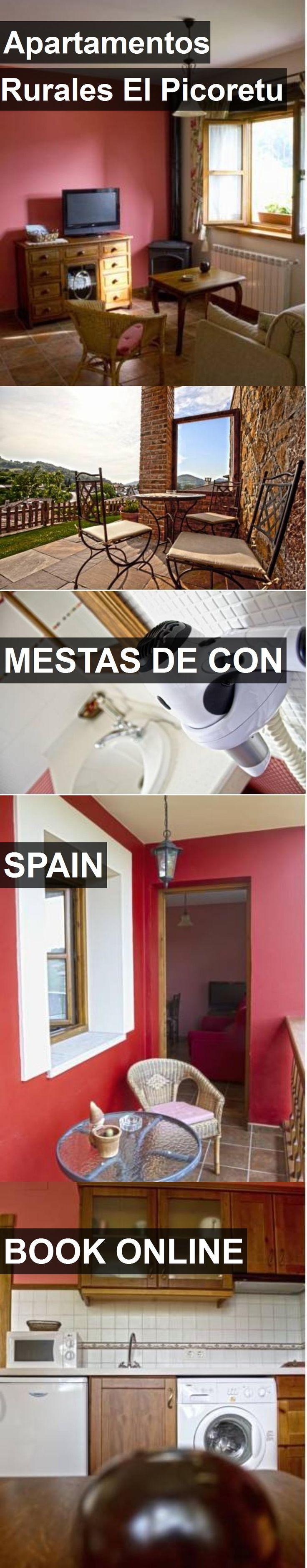 Hotel Apartamentos Rurales El Picoretu in Mestas de Con, Spain. For more information, photos, reviews and best prices please follow the link. #Spain #MestasdeCon #travel #vacation #hotel