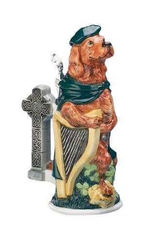 Emerald Isle Irish Setter 3D Porcelain Stein Ireland