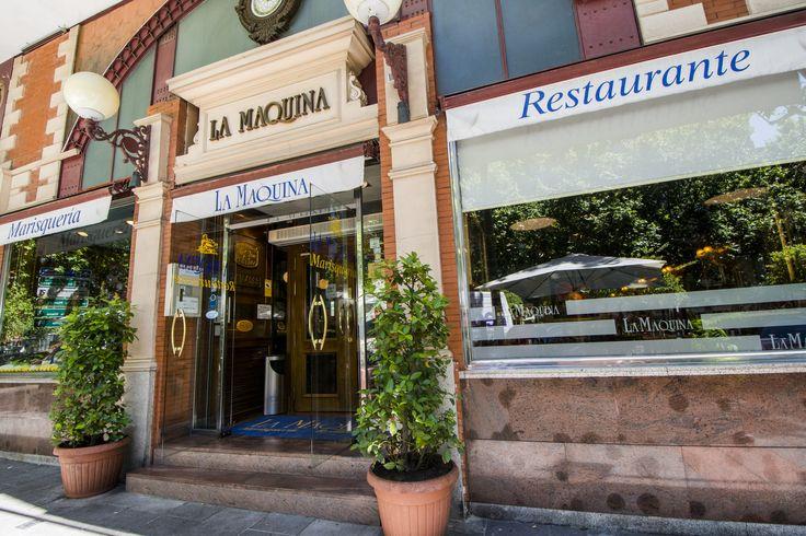 La fachada del restaurante La Máquina