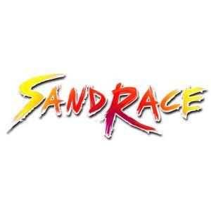 SandRace offroad racing - early logo test