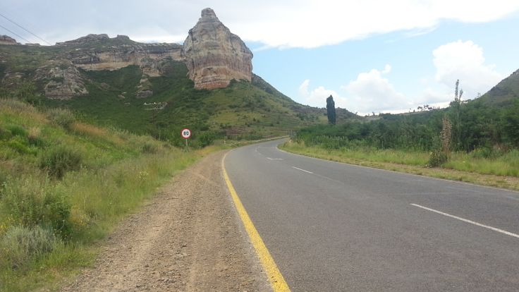 Just outside Clarens