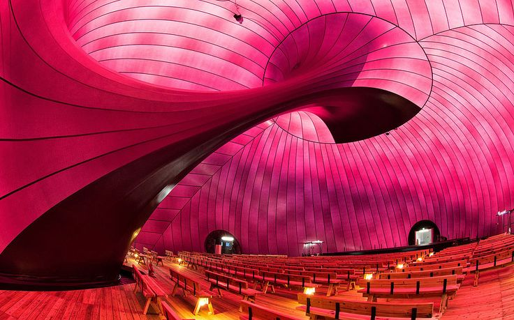 """Bubble of Hope"": Anish Kapoor's Ark Nova Is The World's First Inflatable Concert Hall"