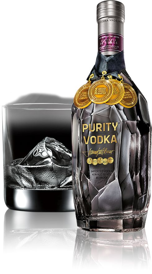 PURITY VODKA NAMED GRAND VODKA MASTER AS VODKA-OF-THE-YEAR FOR THE FOURTH YEAR IN A ROW A 100 POINT VODKA || Purity® Vodka - Welcome to Exceptional Vodka