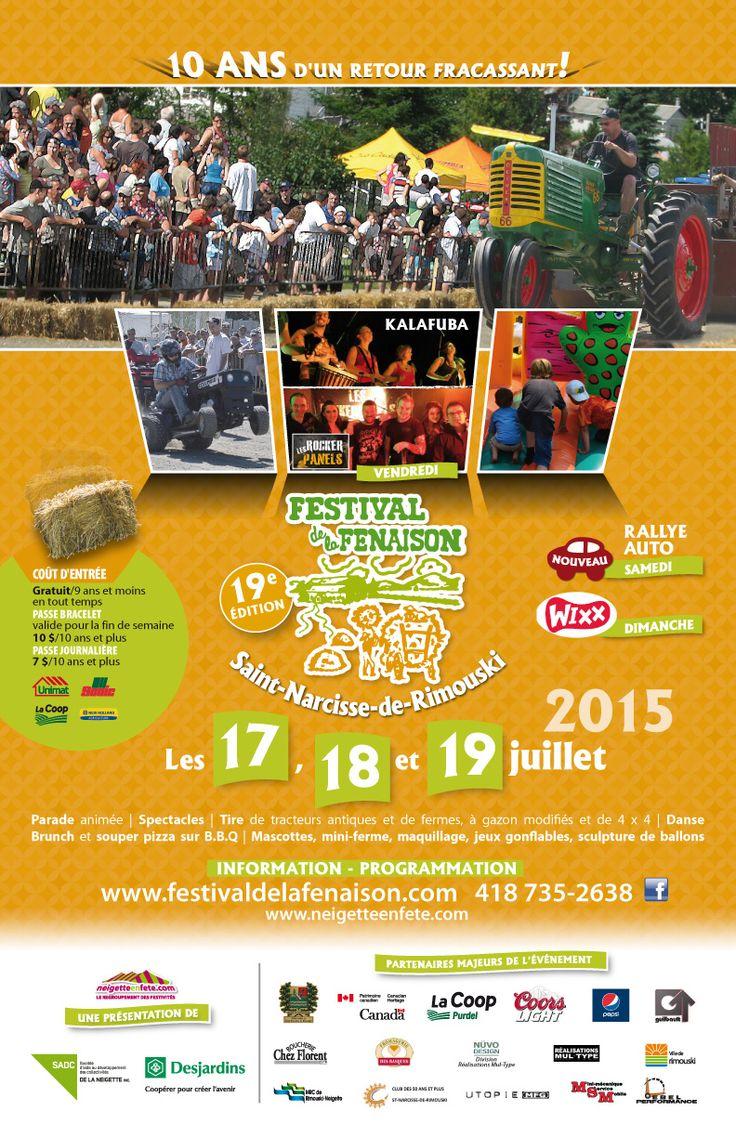 Festival de la fenaison édition 2015