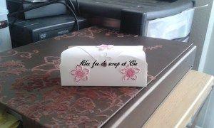 Tutoriel boîte avec l'insta' enveloppes – Alex fee du scrap et Cie