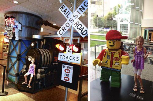 Hallmark's Crown Center in Kansas City: home of LEGOLAND Discovery Center, SEA LIFE Aquarium, Fritz's Railroad Restaurant, Hallmark Visitor Center, theater and more. LOVE this mall! #travel