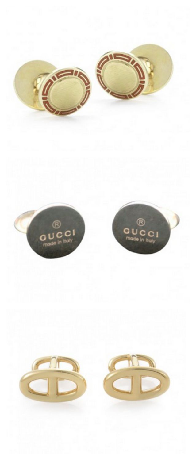 Dad loves cufflinks from Bulgari, Gucci, Hermes and more!