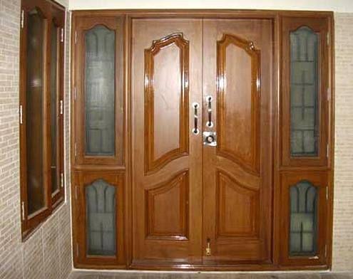 21 model pintu utama rumah minimalis 2 pintu 2021 | dekor