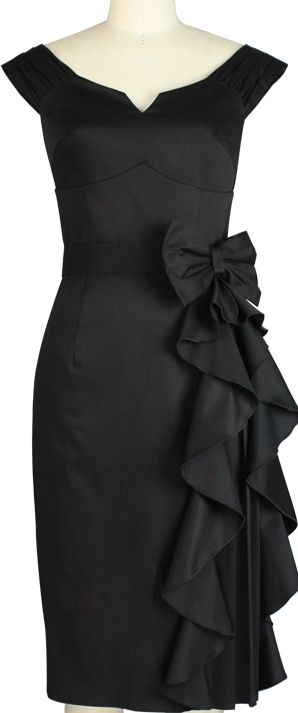1950s Inspired Rockabilly dress -- ChicStar design by Amber Middaugha and BBH