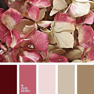 beige, beige polvo, beige polvoriento, burdeos, color beige café, color rosa, color rosado, combinación de colores para boda, marrón, marrón claro, marrón polvo, paleta suave para una boda, rosa polvo, rosa y rosa oscuro, rosado claro, rosado grisáceo, rosado oscuro, rosado
