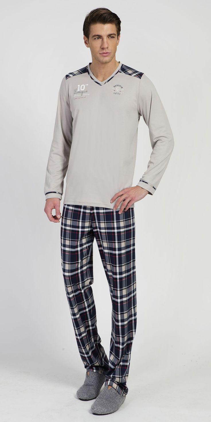 Pyjamas 100% Cotton   Pyjamas  Vamp! Men's Pyjamas 100% Cotton 5544