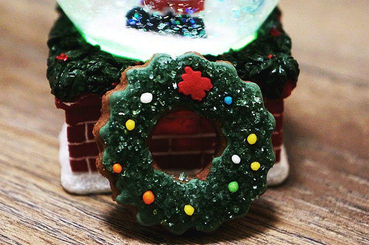 Пряник «Рождественский венок»