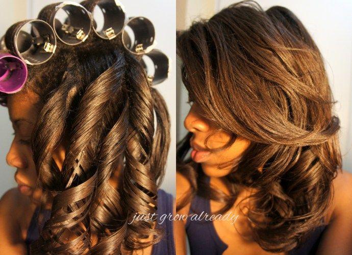 Black Hair Roller Set Styles: Best 25+ Roller Set Ideas On Pinterest