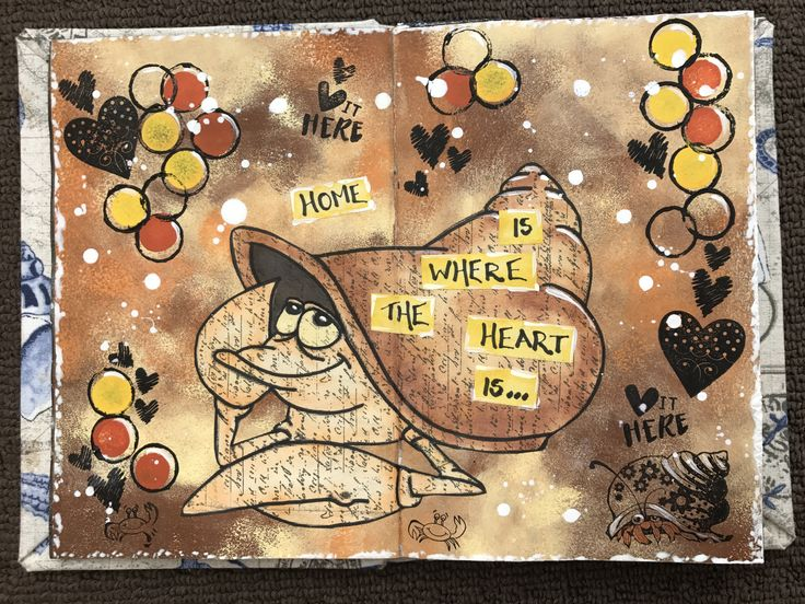 home is where the heart is hermit crab practice journal