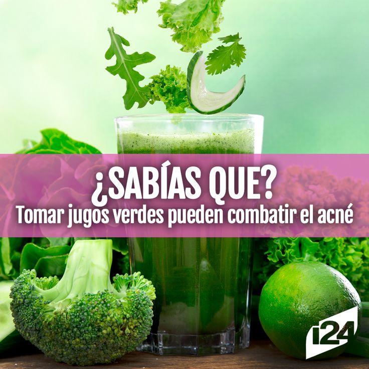 El zumo verde es una dosis maravillosa de hidratación #Verde #Natural #Saludable #Jugo